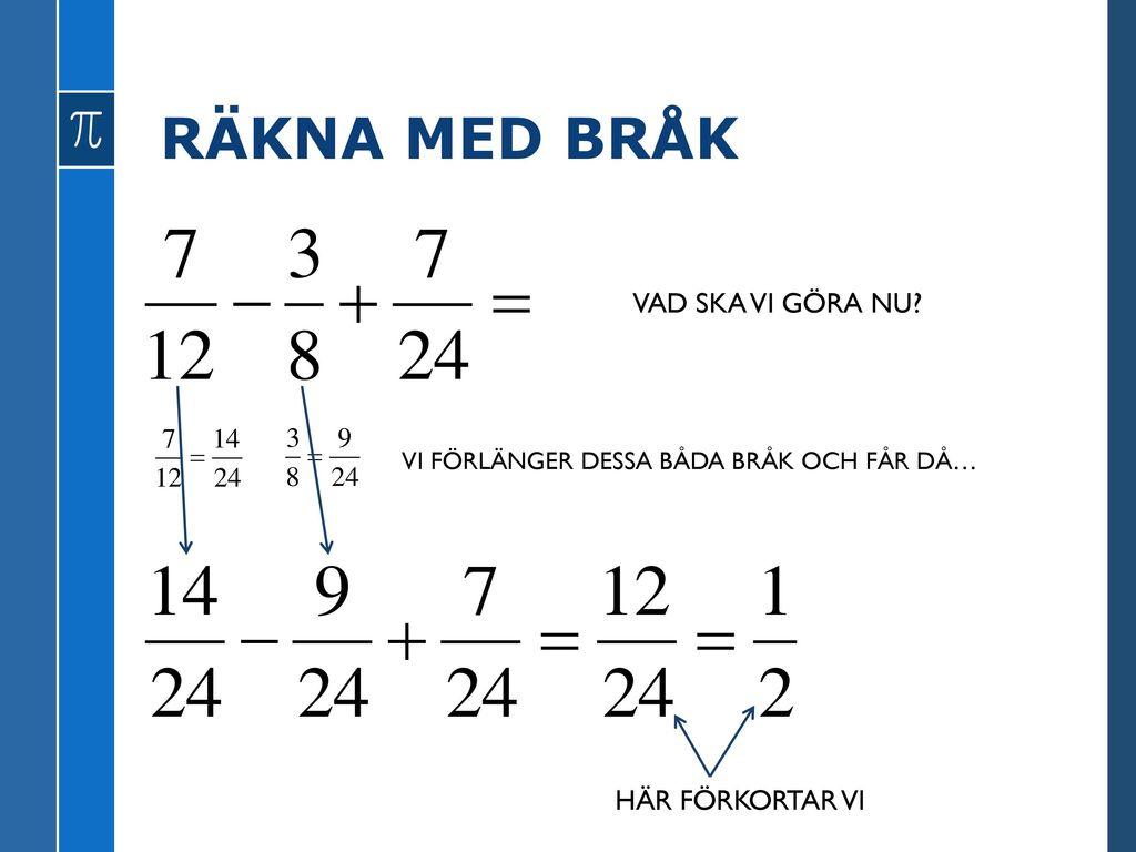 TAL I BRÅKFORM