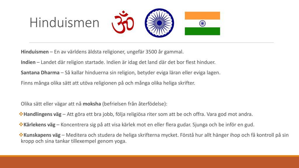 hur gammal är hinduismen