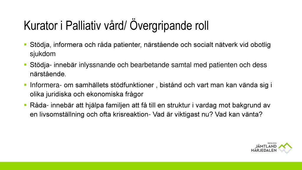 vad betyder palliativ
