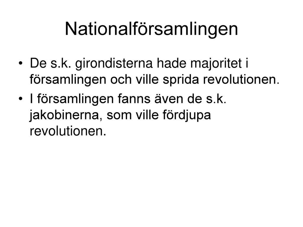 Nationalförsamlingen