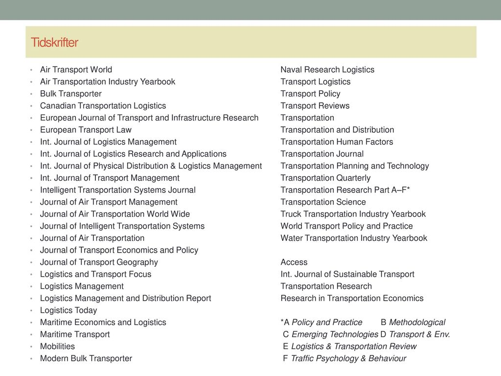 Transportation Research Part C-Emerging Technologies Impact Factor
