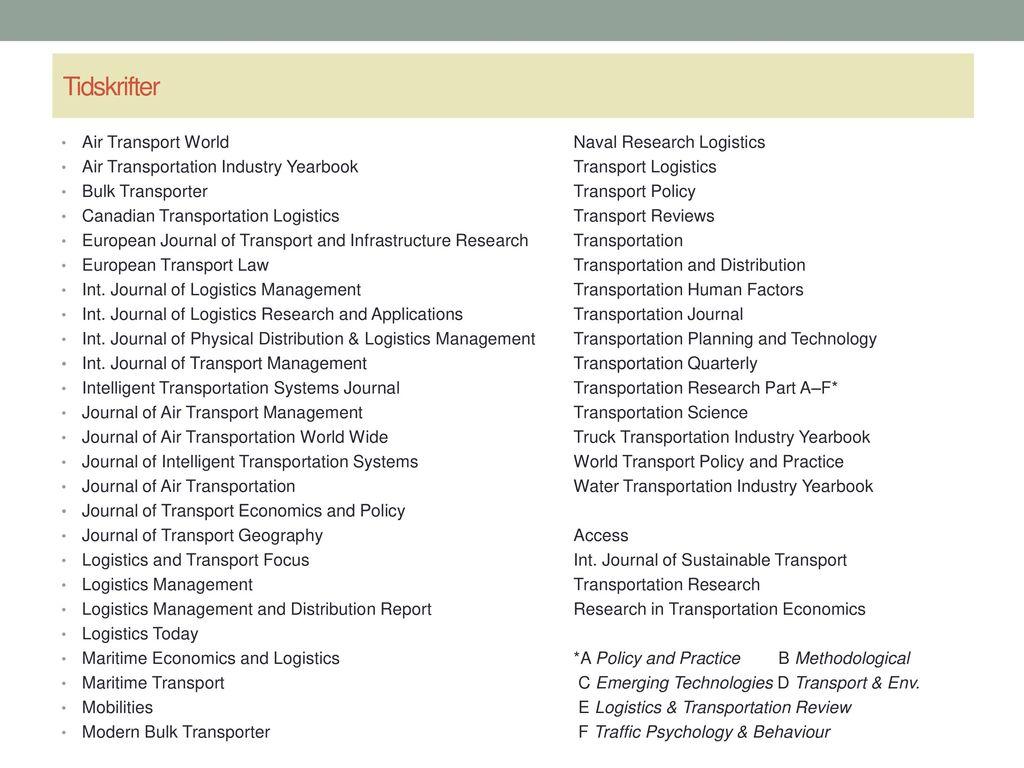 Transportation Research Part C-Emerging Technologies Journal
