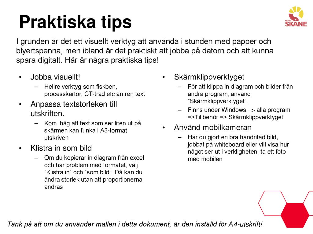 Praktiska tips