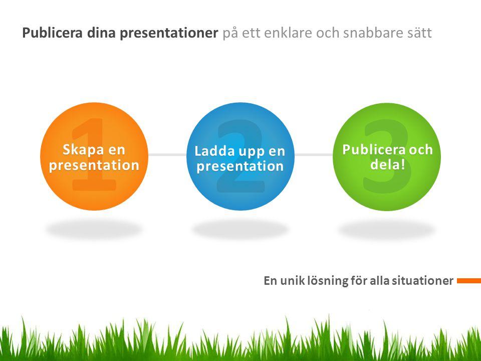 Ladda upp en presentation