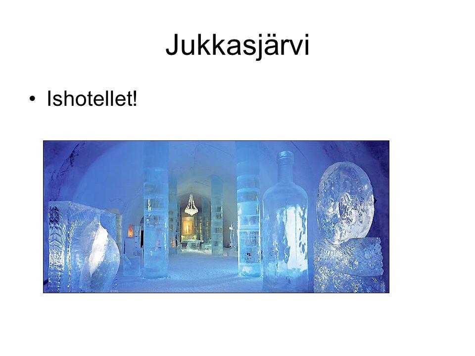 Jukkasjärvi Ishotellet!