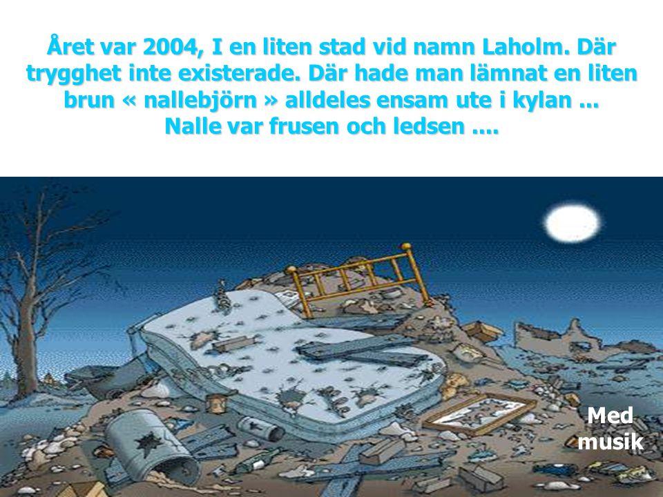 Året var 2004, I en liten stad vid namn Laholm