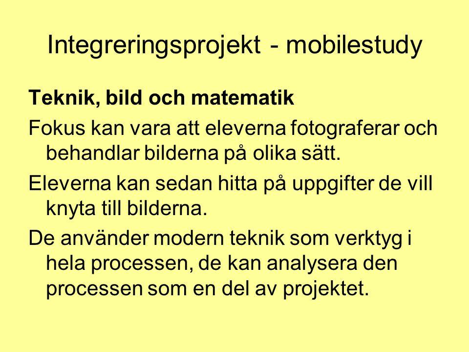 Integreringsprojekt - mobilestudy