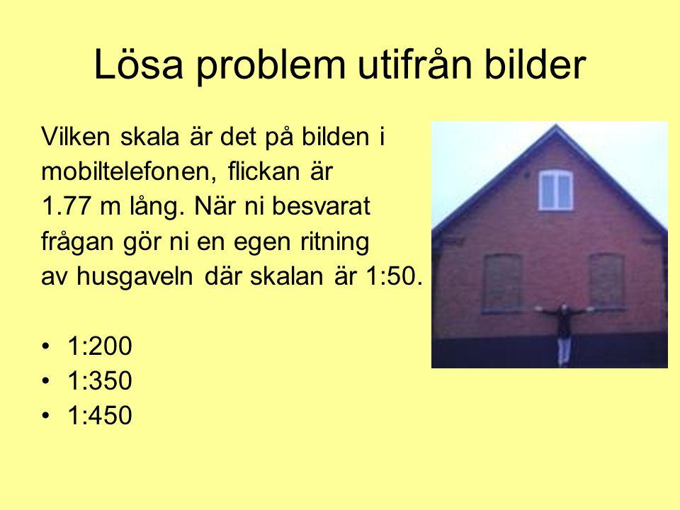 Lösa problem utifrån bilder
