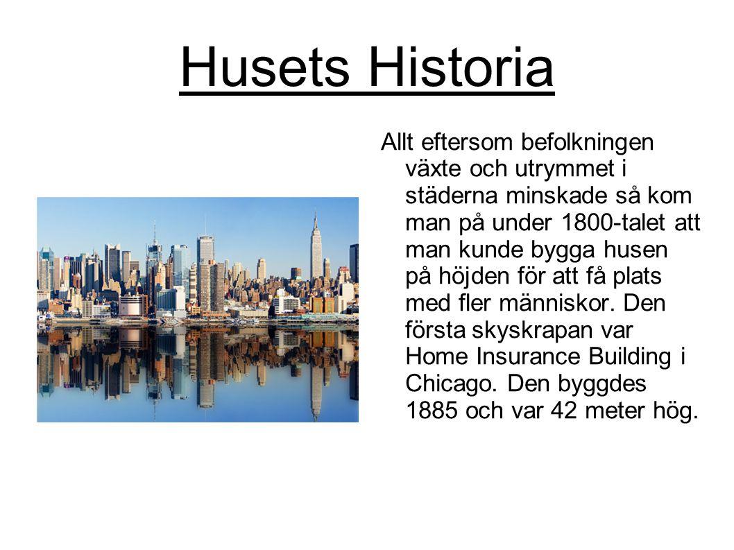 Husets Historia
