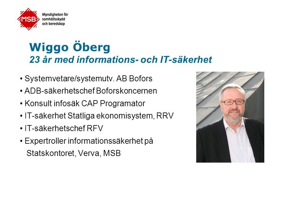Wiggo Öberg 23 år med informations- och IT-säkerhet