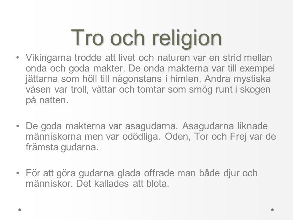 Tro och religion