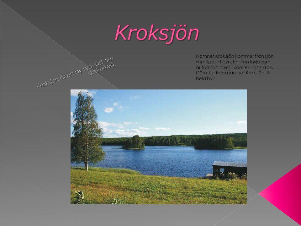 Kroksjön är en by sydväst om skellefteå.