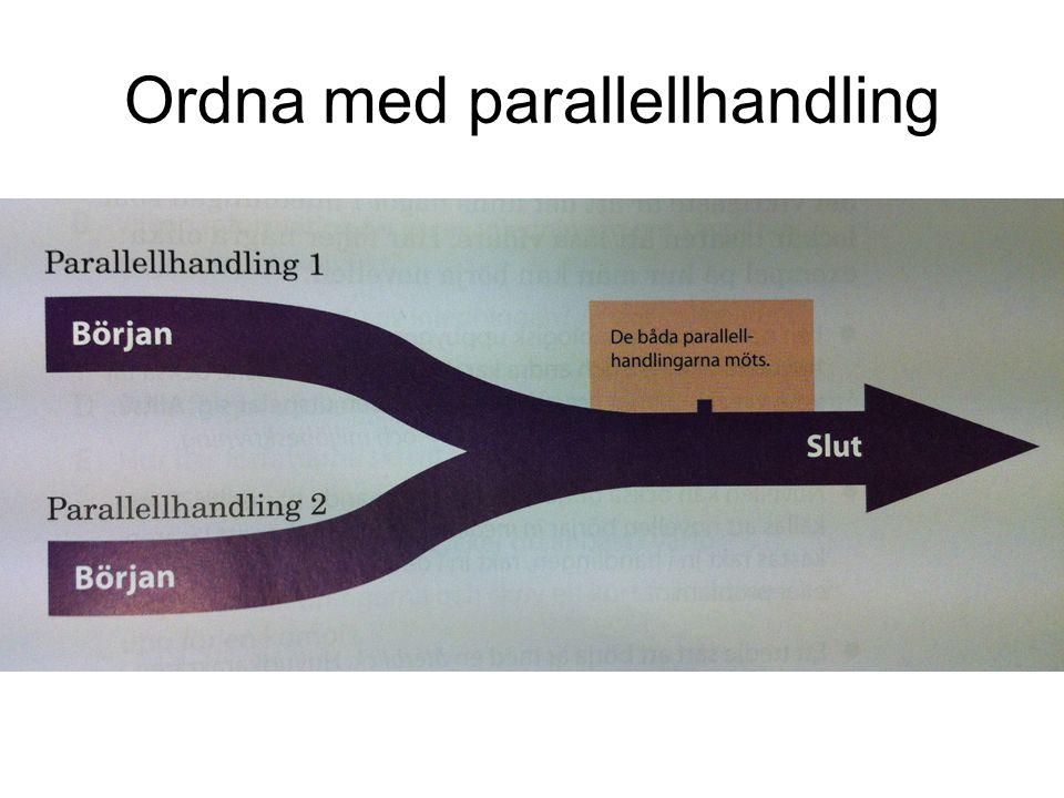 Ordna med parallellhandling