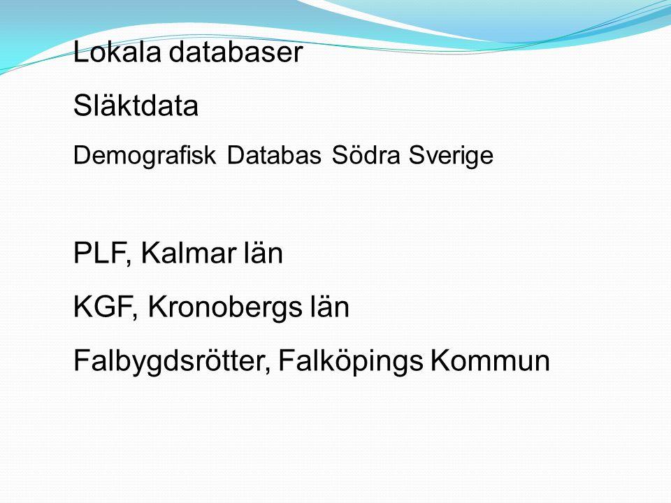 Falbygdsrötter, Falköpings Kommun