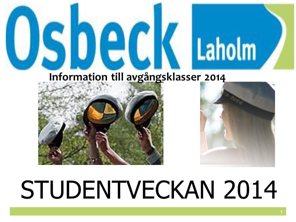 Information till avgångsklasser 2014