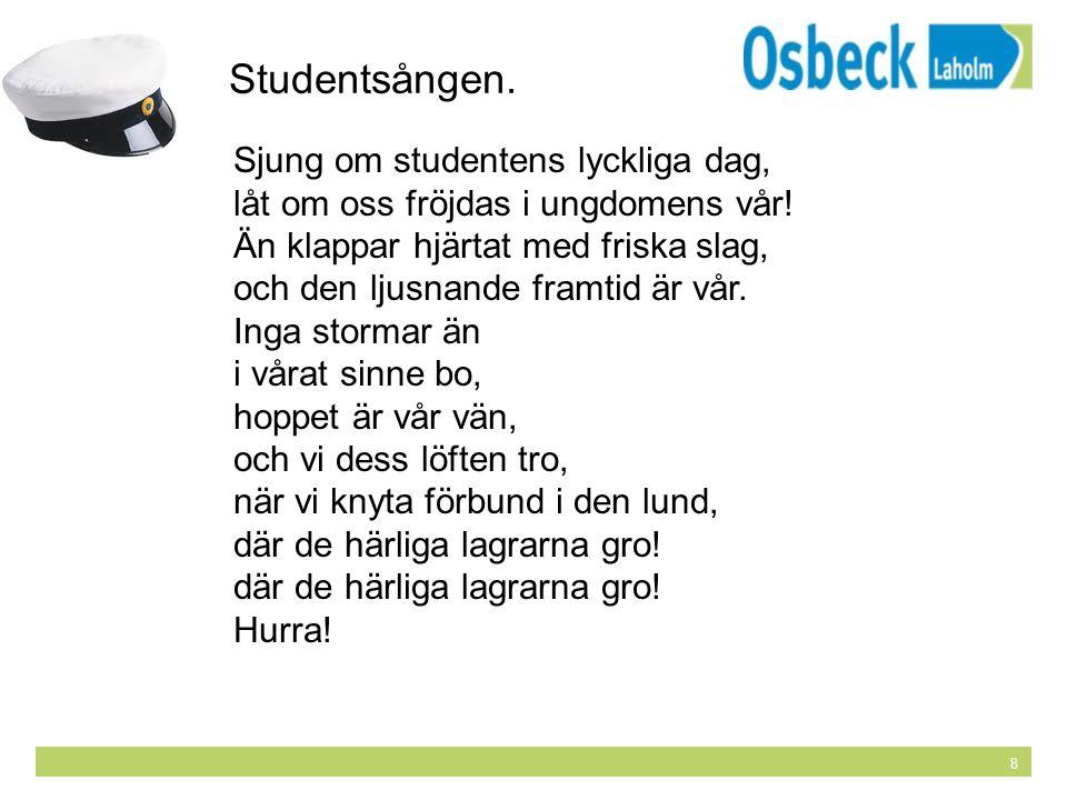 sjung om studentens lyckliga dag