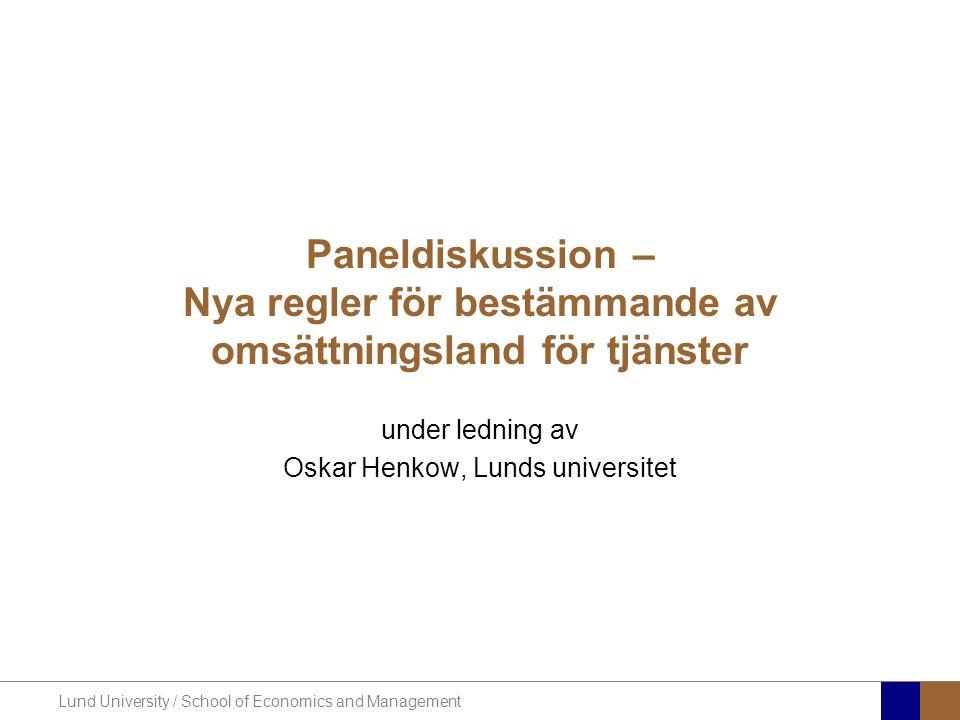 under ledning av Oskar Henkow, Lunds universitet