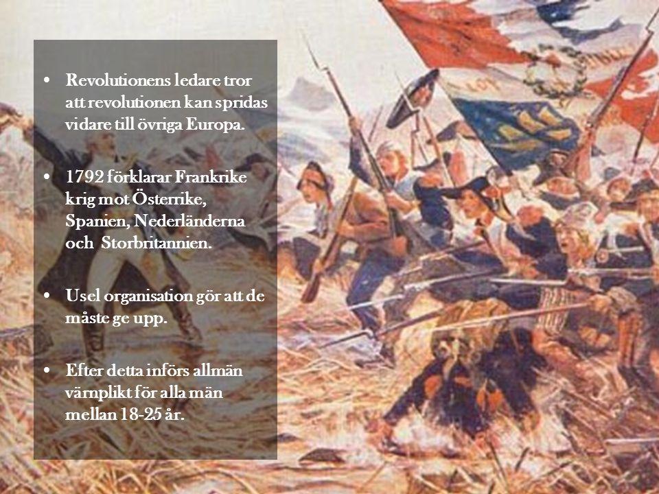 Revolutionens ledare tror att revolutionen kan spridas vidare till övriga Europa.