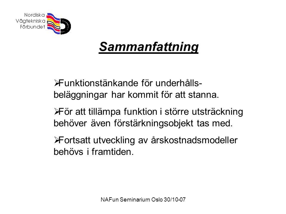 NAFun Seminarium Oslo 30/10-07