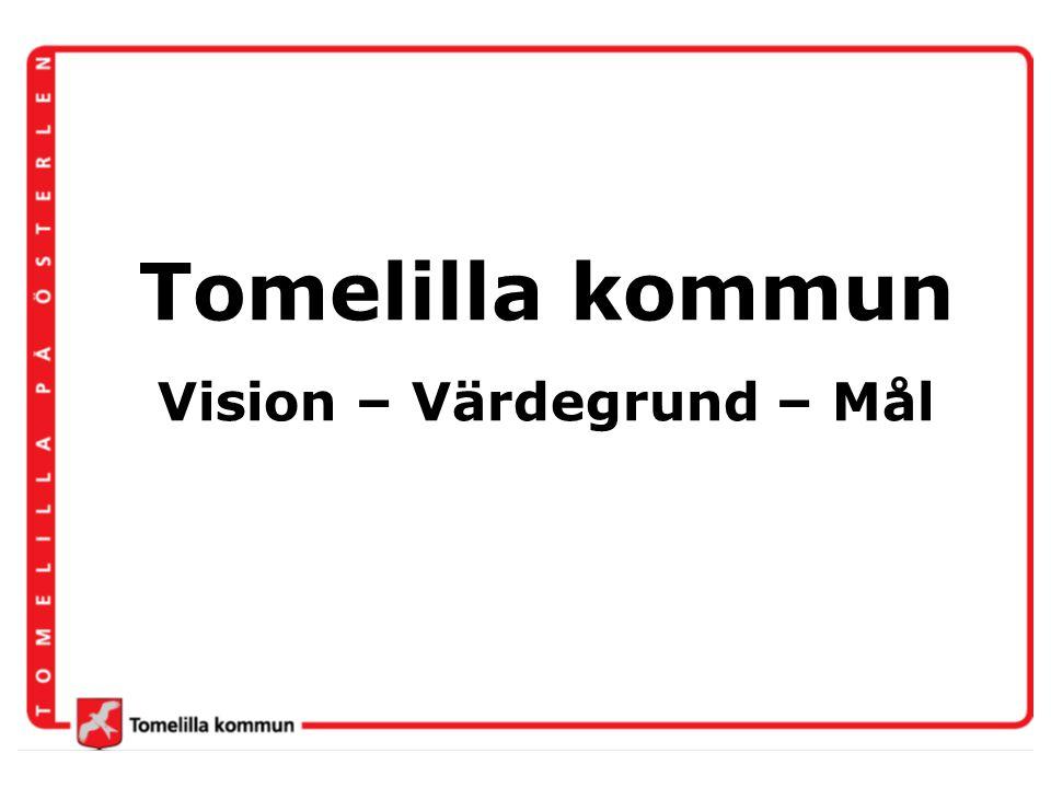 Vision – Värdegrund – Mål