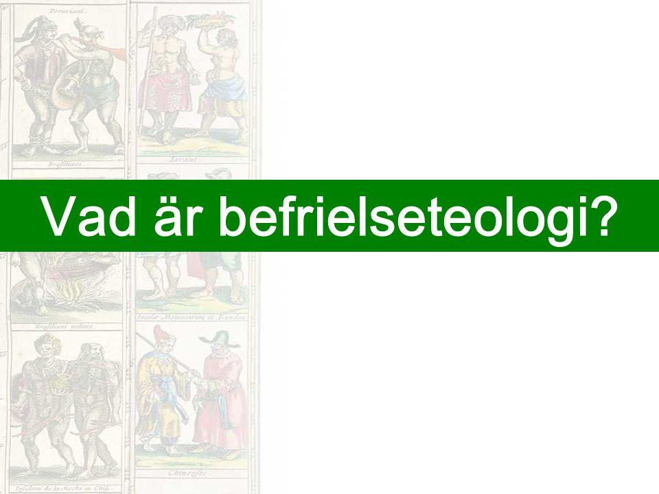 Vad är befrielseteologi