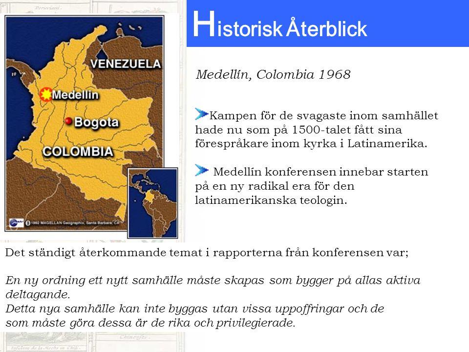 Historisk Återblick Medellín, Colombia 1968