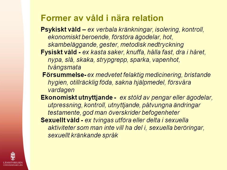 Former av våld i nära relation