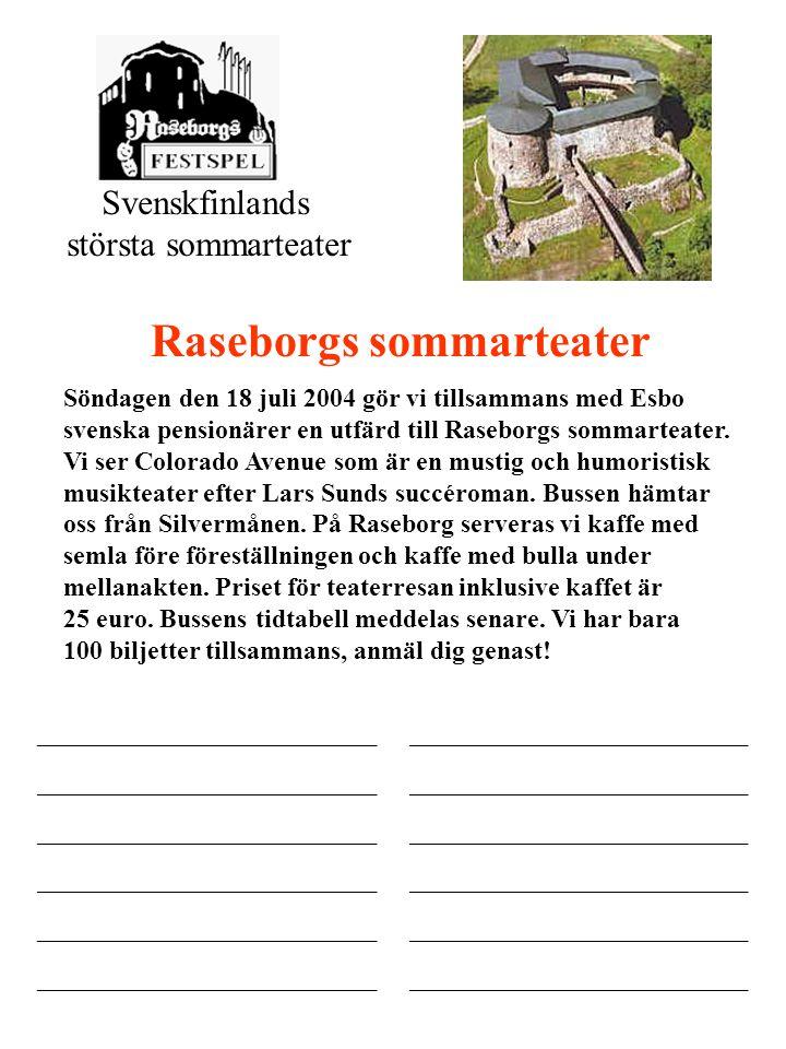 Raseborgs sommarteater