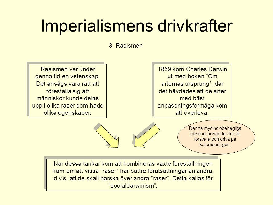 Imperialismens drivkrafter