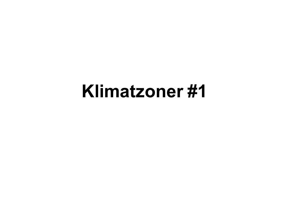 Klimatzoner #1