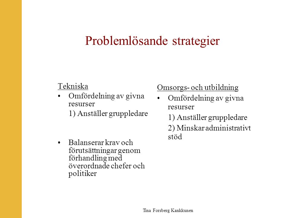 Problemlösande strategier