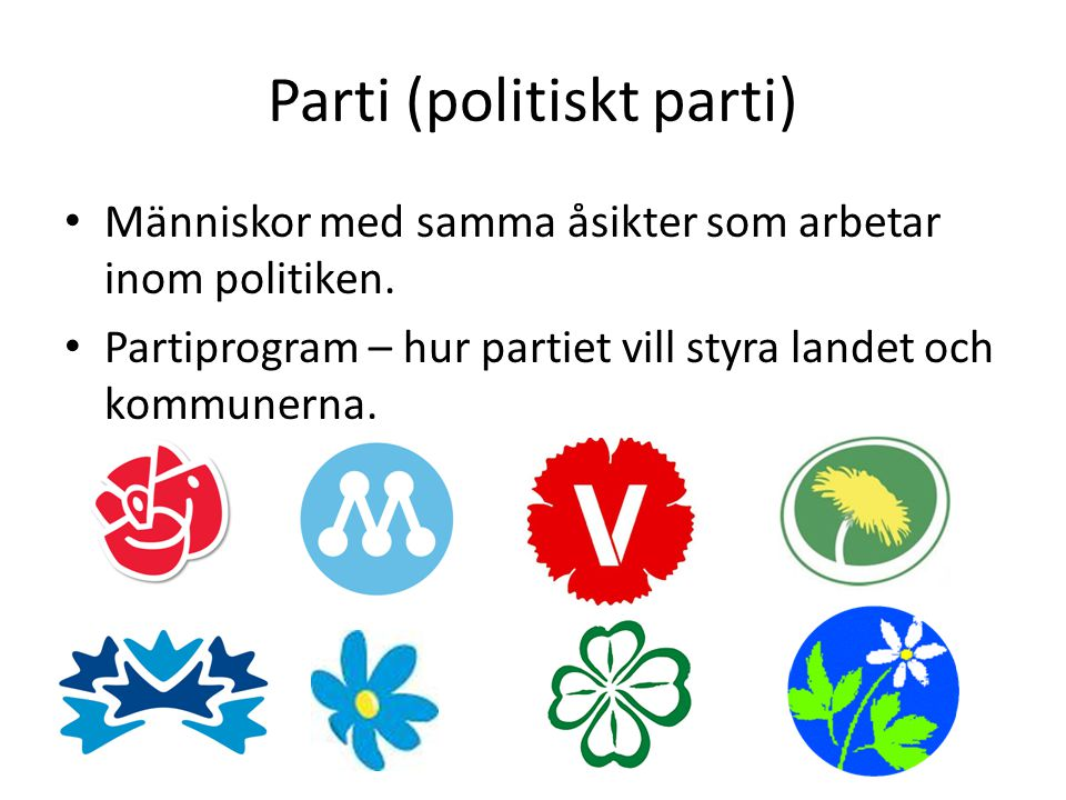 Parti (politiskt parti)