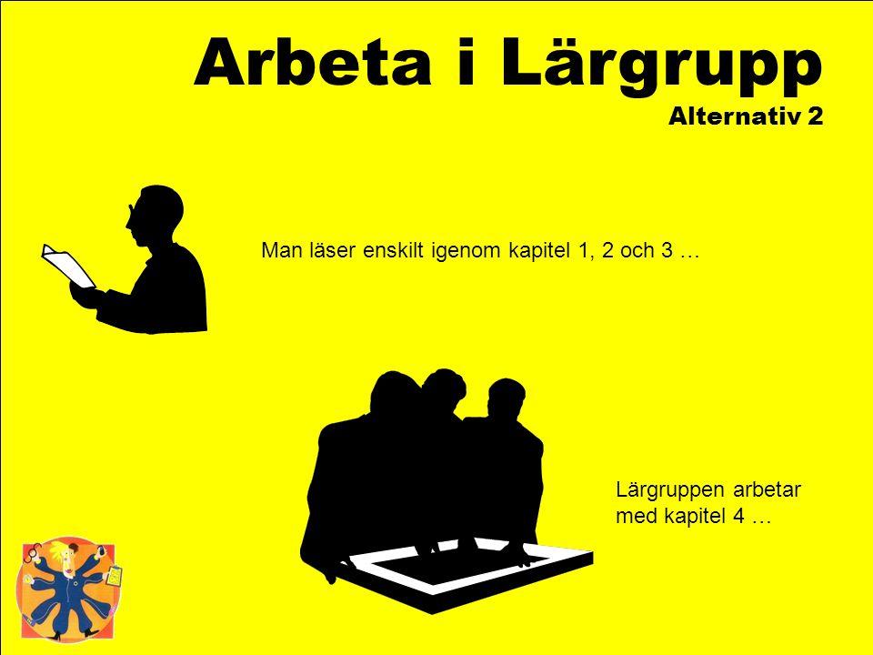 Arbeta i Lärgrupp Alternativ 2