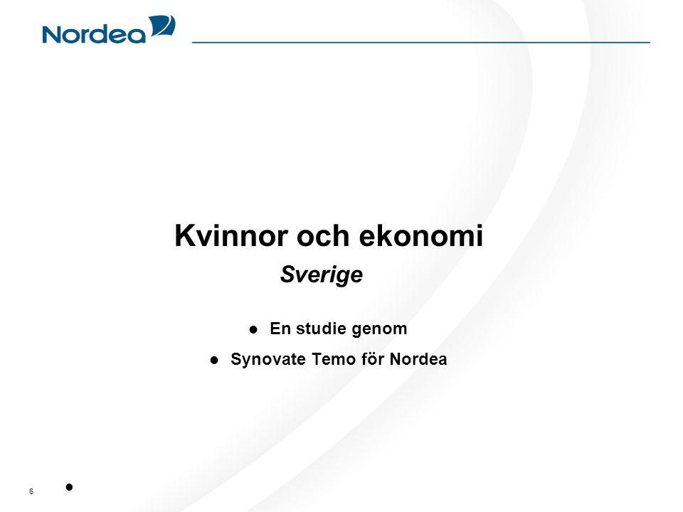 Kvinnor och ekonomi Sverige