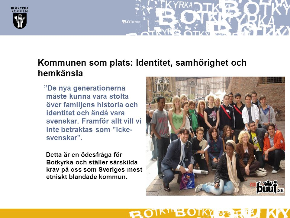Kommunen som plats: Identitet, samhörighet och hemkänsla