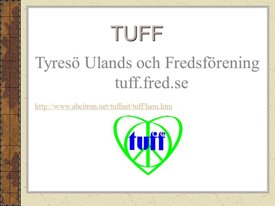 Tyresö Ulands och Fredsförening tuff.fred.se
