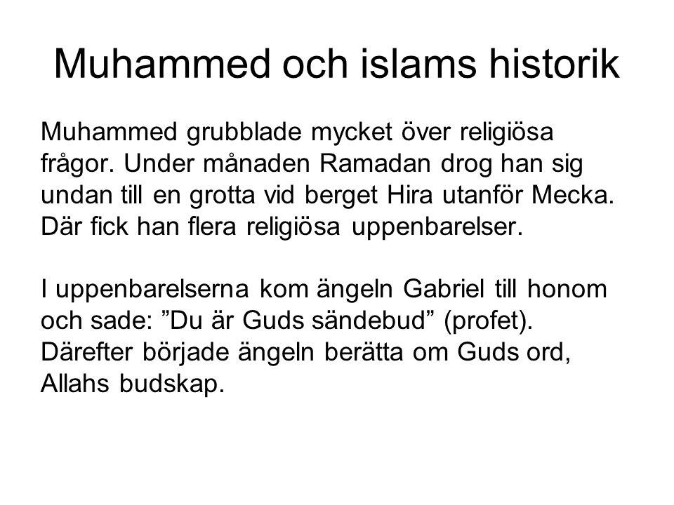 Muhammed och islams historik