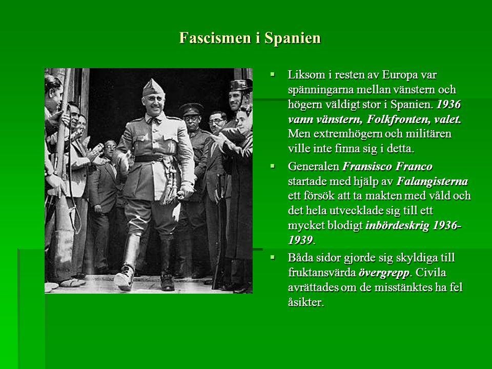 Fascismen i Spanien