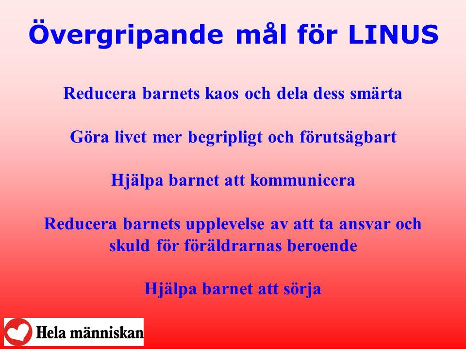 Övergripande mål för LINUS