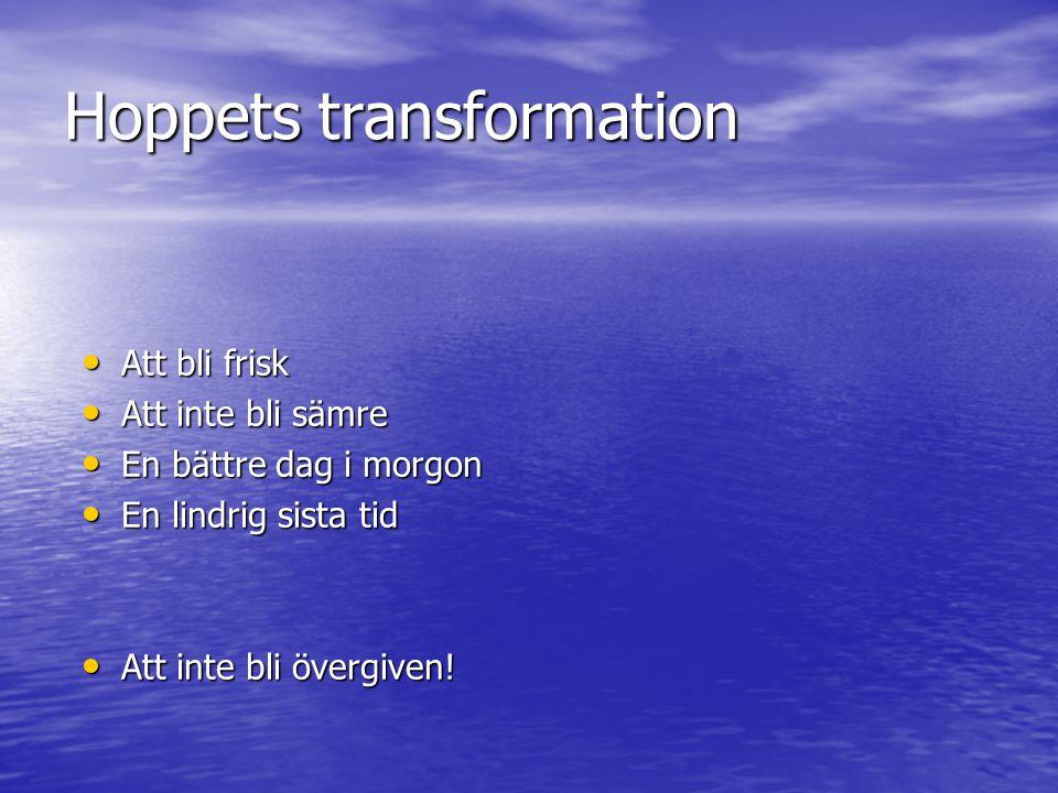 Hoppets transformation