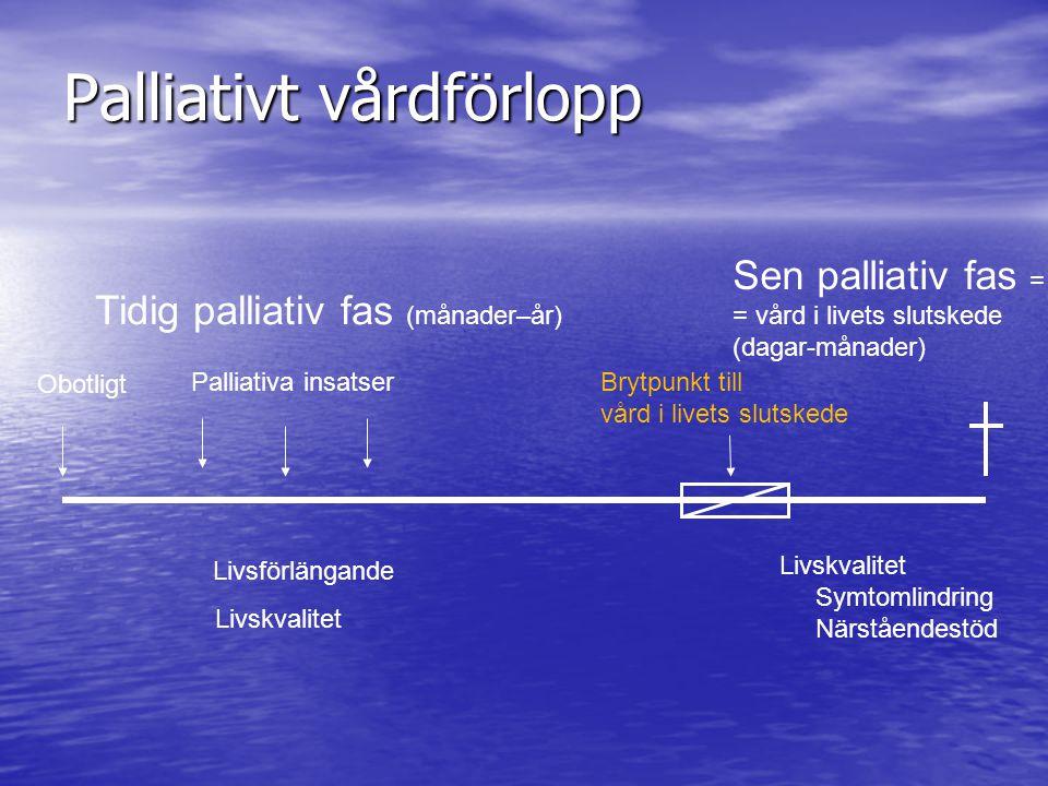 Palliativt vårdförlopp