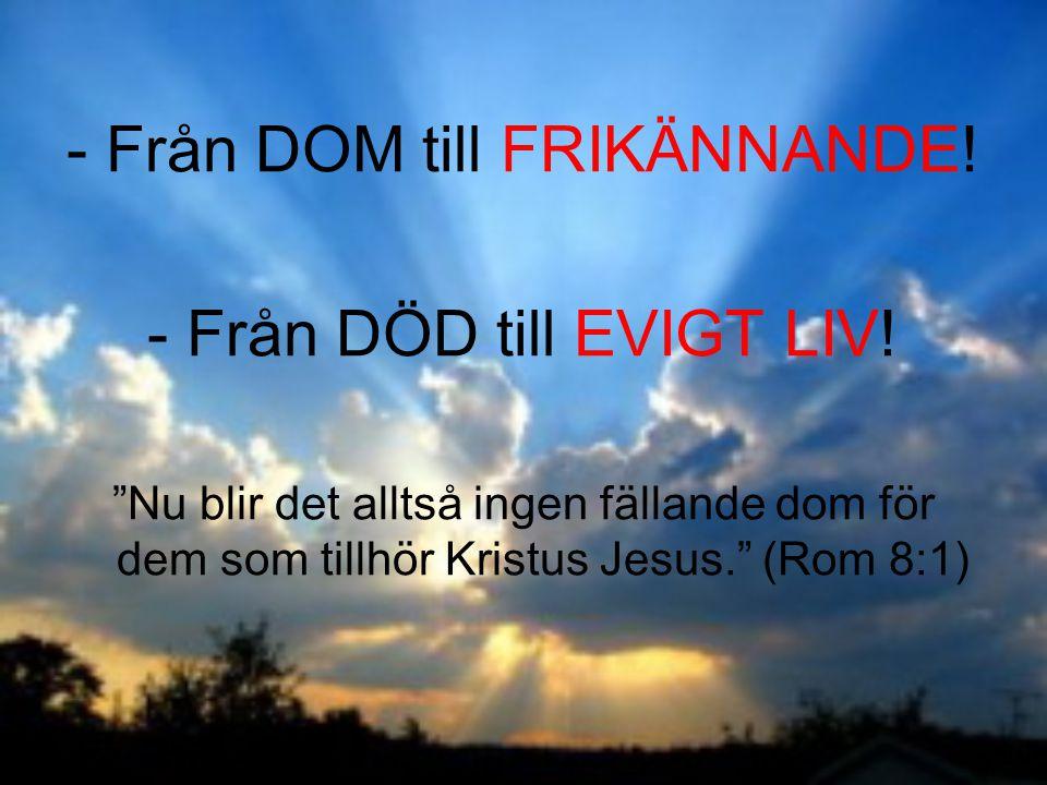 Från DOM till FRIKÄNNANDE!
