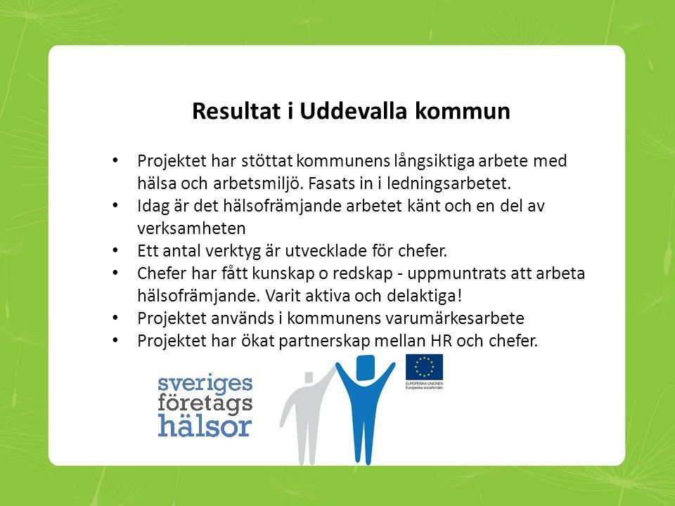 Resultat i Uddevalla kommun