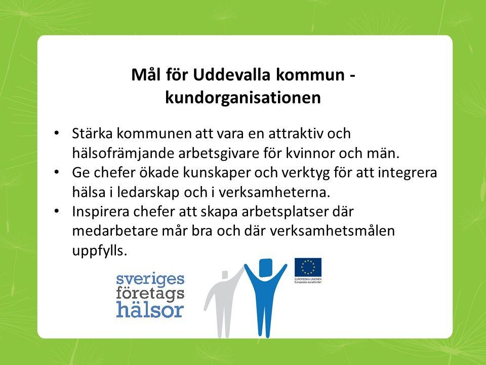 Mål för Uddevalla kommun - kundorganisationen