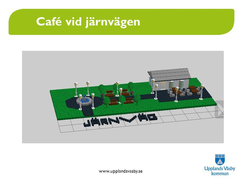 Café vid järnvägen