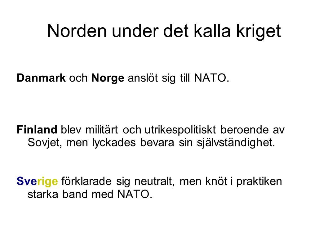 Norden under det kalla kriget