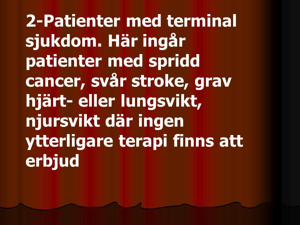2-Patienter med terminal sjukdom