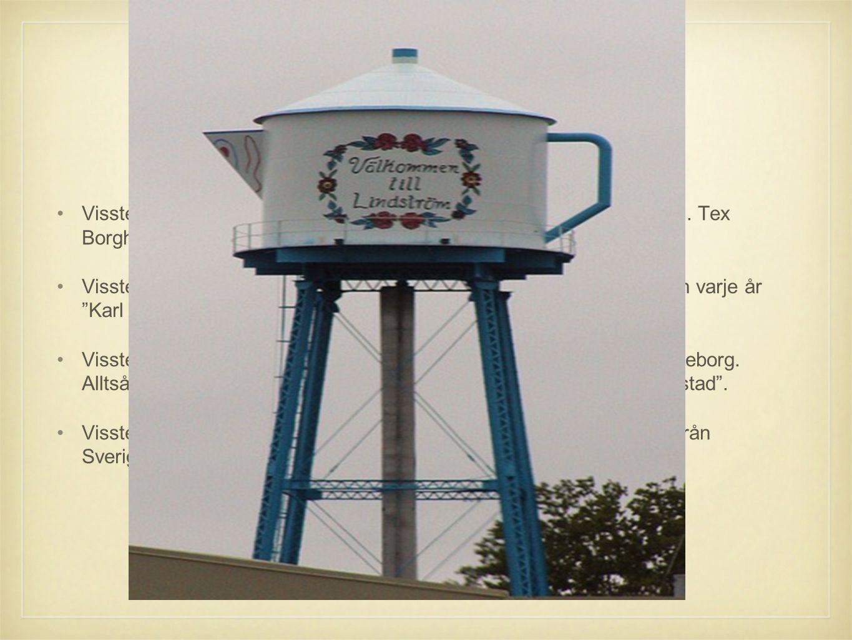 Visste du att Visste ni att det i USA finns flera olika städer som har svenska namn. Tex Borgholm och Kalmar.