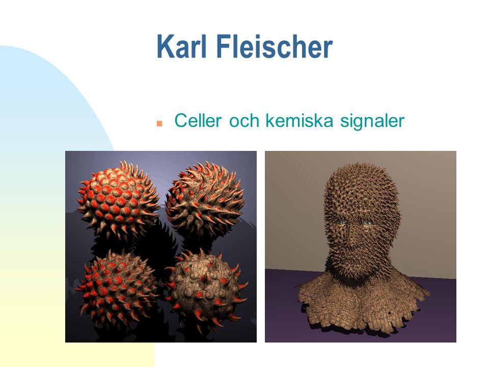 Karl Fleischer Celler och kemiska signaler