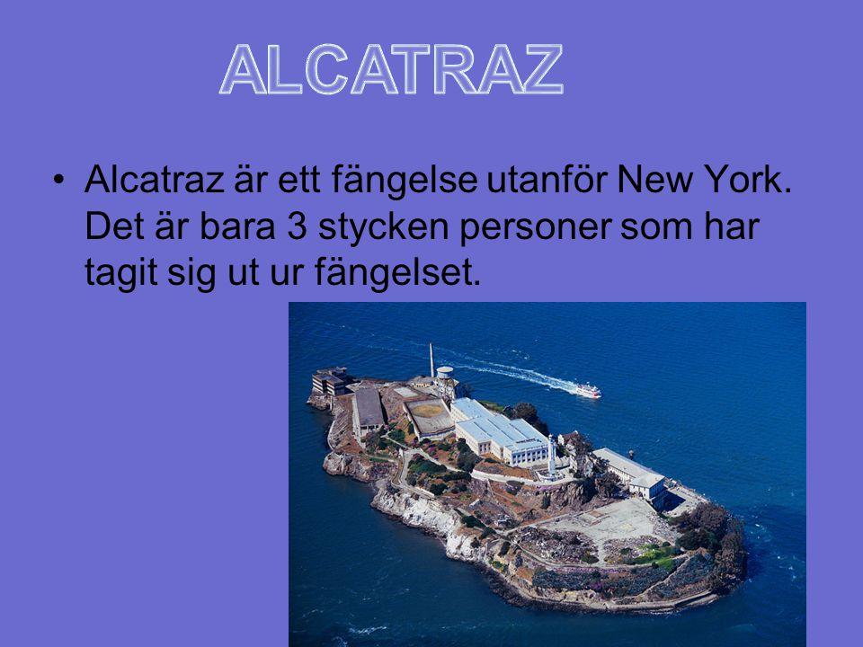 ALCATRAZ Alcatraz är ett fängelse utanför New York.